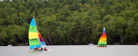 Pleasant Lake Sailing